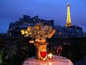 Find 1 Bedroom Paris Flat with balcony and Eiffel Tower view - Paris Perfect
